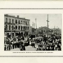 Image of Lower Wyndham St., Trades Procession on Labor Day, p.27