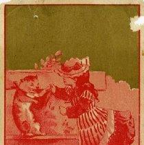 Image of Advertising Card, 'Elephant' Clothing Store