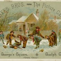 Image of .2 Advertising Card, Water Bros.  - The Picture Gallery