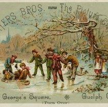 Image of .1 - Advertising Card, Waters Bros.