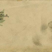 Image of Maple Leaf Base Ball Club Envelope
