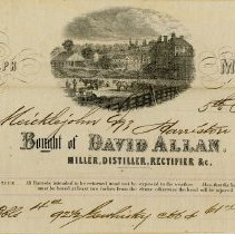 Image of Guelph Mills Invoice to Mr. Micklejohn Esq., 1870