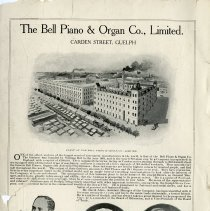 Image of The  Bell Piano & Organ Co., Limited, inside front cover
