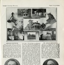 Image of Homewood Sanitarium; Nunan's Bookbindery, page 43