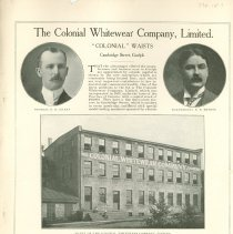 Image of The Colonial Whitewear Company, Limited, inside back cover
