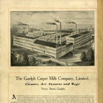 Image of The Guelph Carpet Mills Company, Limited, back cover