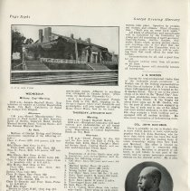 Image of Programme for Old Home Week, 1908, page 8