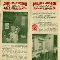 Image of Pullman Tourist Sleeping Car; Toilets, pp.3-4
