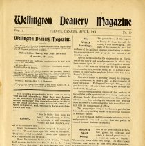 Image of Wellington Deanery Magazine, page 1