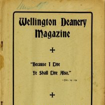 Image of Wellilngton  Deanery Magazine, Apirl 1901