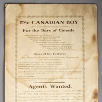 Image of The Canadian Boy Journal - Back