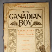 Image of The Canadian Boy Journal - Front