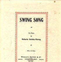 Image of Swing Song cover