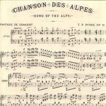 Image of Chanson des Alpes pg 1