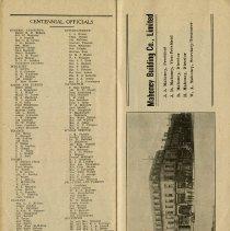 Image of Centennial Officials, p.28