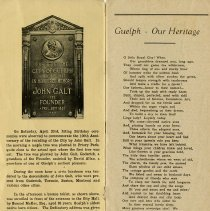 "Image of ""Guelph - Our Heritage,"" by Anne Sutherland, p.1"