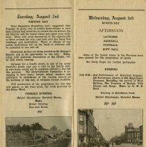 Image of Visitnig Day & Sports Day, August 2-3, 1927