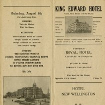 Image of Events for Saturday, August 6th, 1927, p.10