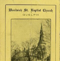 Image of Military Service, Woolwich St. Baptist Church