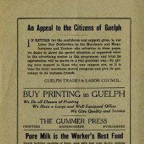 Image of An Appeal to Guelph Citizens