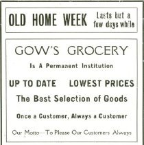 Image of pg.32 partial - Gow's Grocery