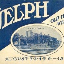 Image of Old Home Week Program 1908