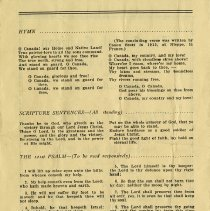 Image of Order of Service, p.2
