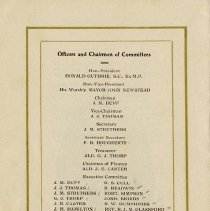 Image of Officers and Chairmen of Committees, p.16