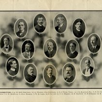 Image of Members of the Executive Committee, pp.5-6