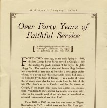 "Image of ""Over 42 Years of Faithful Service"", page 2"
