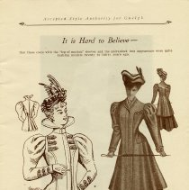 Image of Ladies' Fashions 1896 and 1906, page 5