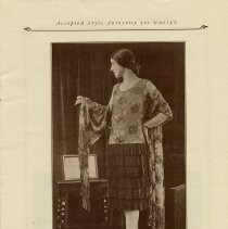 Image of Miss Toronto modeling an Evening Frock 1927, page 7