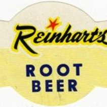 Image of Label for Reinhart's RB Root Beer