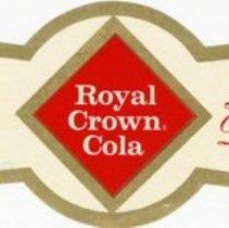 Image of Bottle Label for Royal Crown Cola