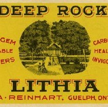 Image of Bottle Label for Deep Rock Table Water