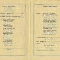 Image of Order of Service