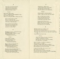 Image of Hymns 3 to 10, pages 2 and 3