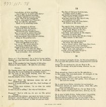 Image of Hymns 11 to 14, back cover
