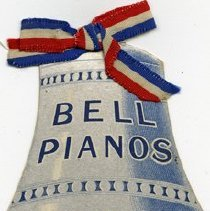 Image of Advertisement for Bell Pianos