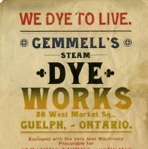 Image of Advertising Flyer, T.H. Gemmell