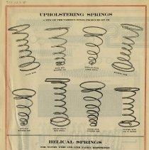 Image of Back of Advertising Flyer/Letter, James Steele Ltd.