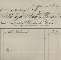 Image of Statement issued by James Massie & Co, 1874