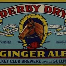 Image of Unused Derby Dry Ginger Ale Label, c.1935