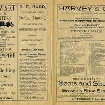 Image of Evening Programme, July 1, 1891, p.19