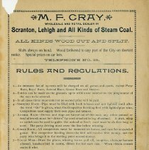 Image of Rules and Regulations, inside back cover