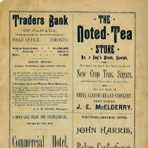 Image of Advertisements, inside front cover