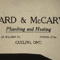 Image of Howard & McCarvell Letterhead, 1927