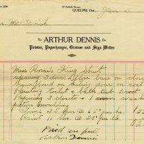 Image of Statement, Arthur Dennis, Painter, 1927