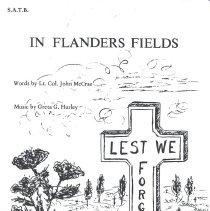 Image of In Flanders Fields pg 1