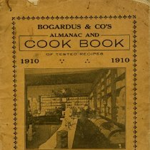 Image of Bogardus & Co.'s Almanac & Cook Book, 1910